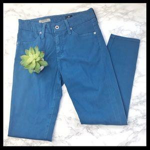 ag // farrah high rise skinny crop jeans sateen